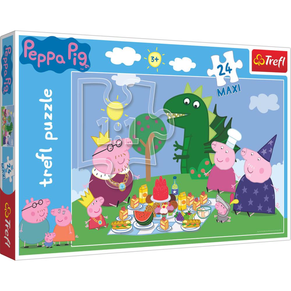 Peppa Pig maxipuzzel - 24 stukjes