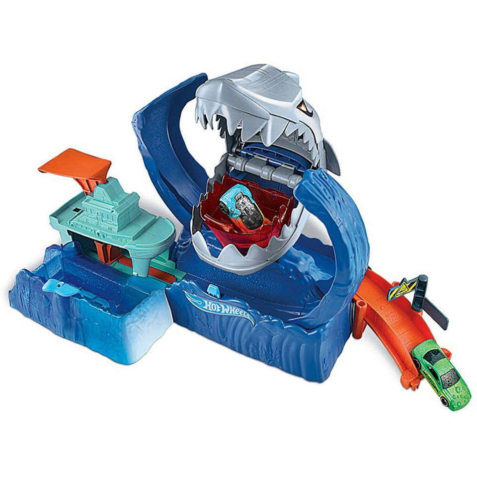 Hot Wheels City robo haai waanzin speelset