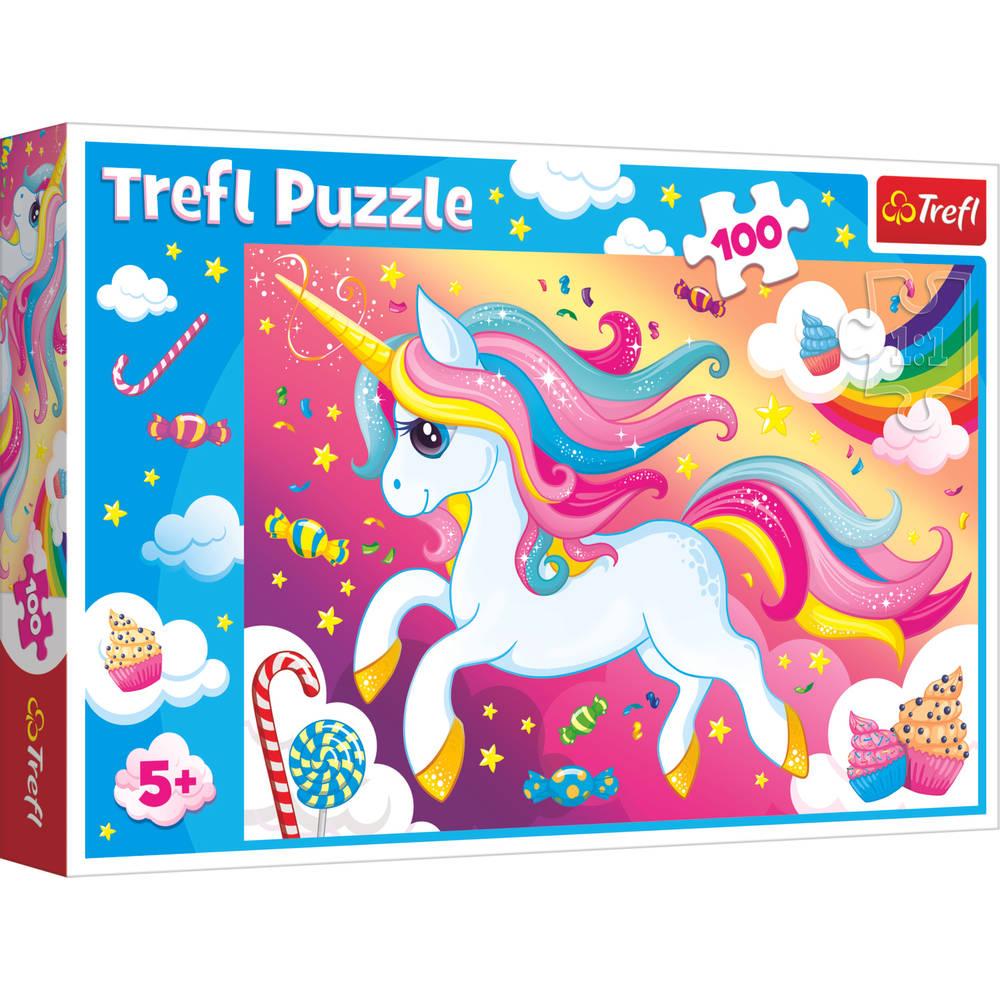 Eenhoorn puzzel - 100 stukjes