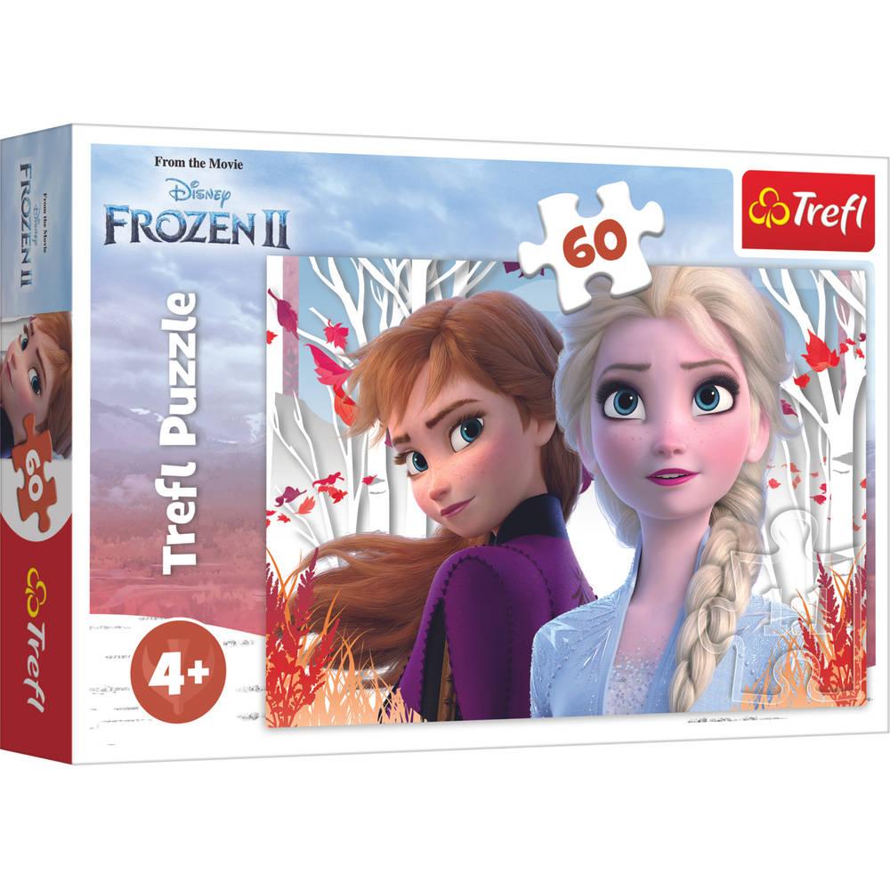 Disney Frozen 2 puzzel Anna en Elsa - 60 stukjes