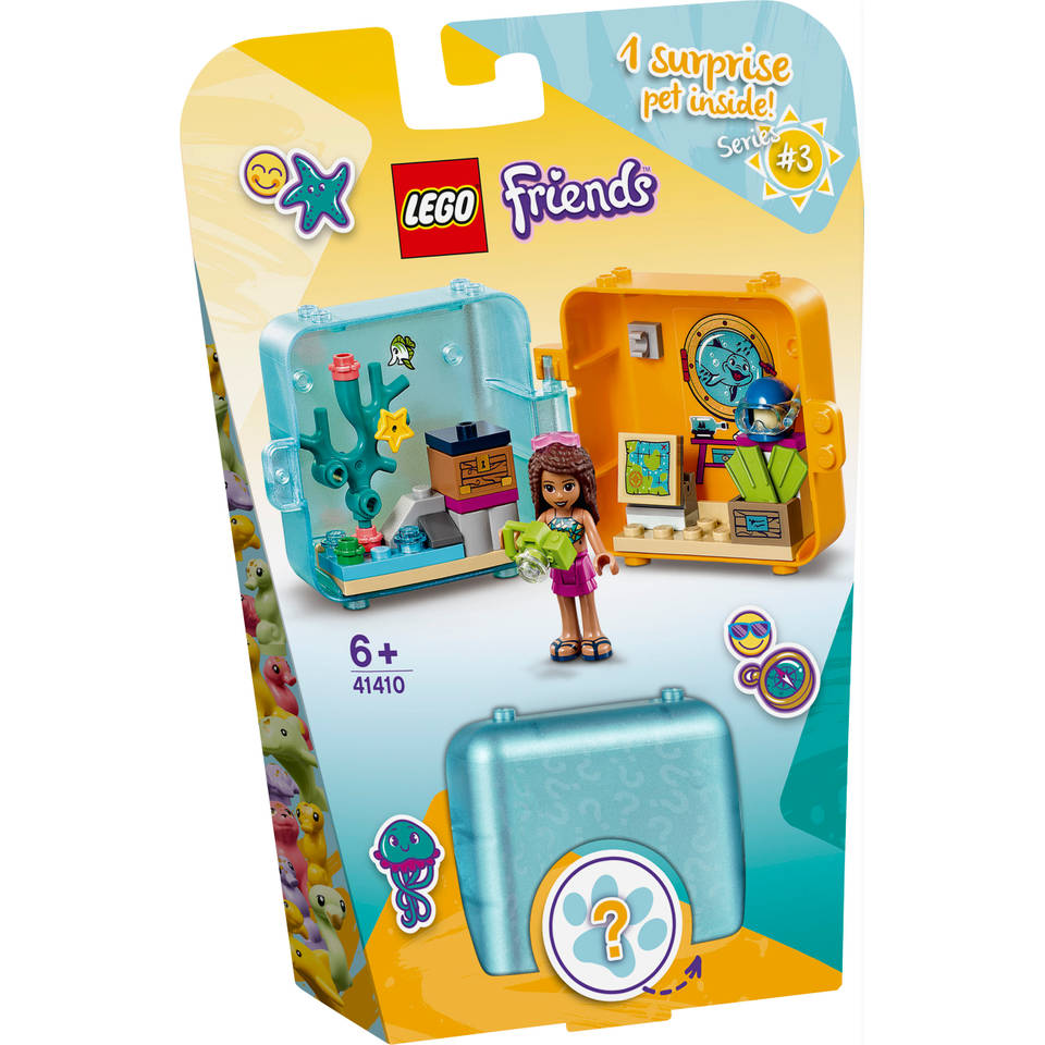 LEGO Friends Andrea's zomerspeelkubus 41410