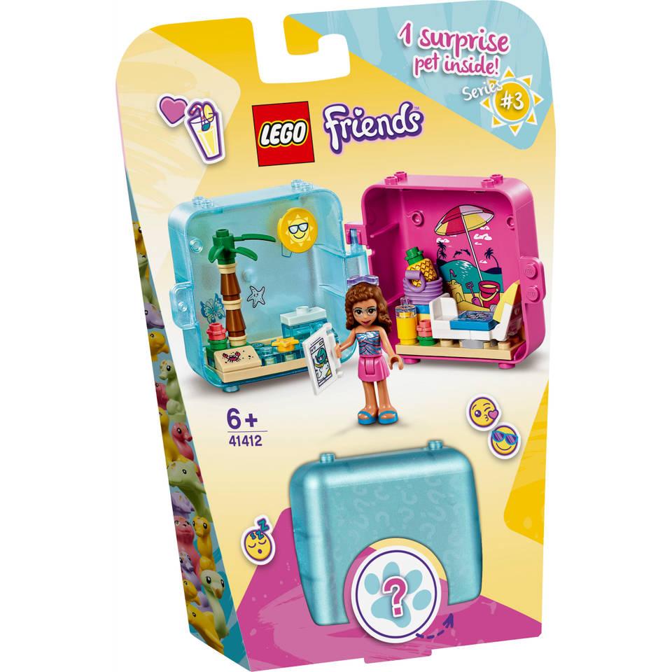 LEGO Friends Olivia's zomerspeelkubus 41412