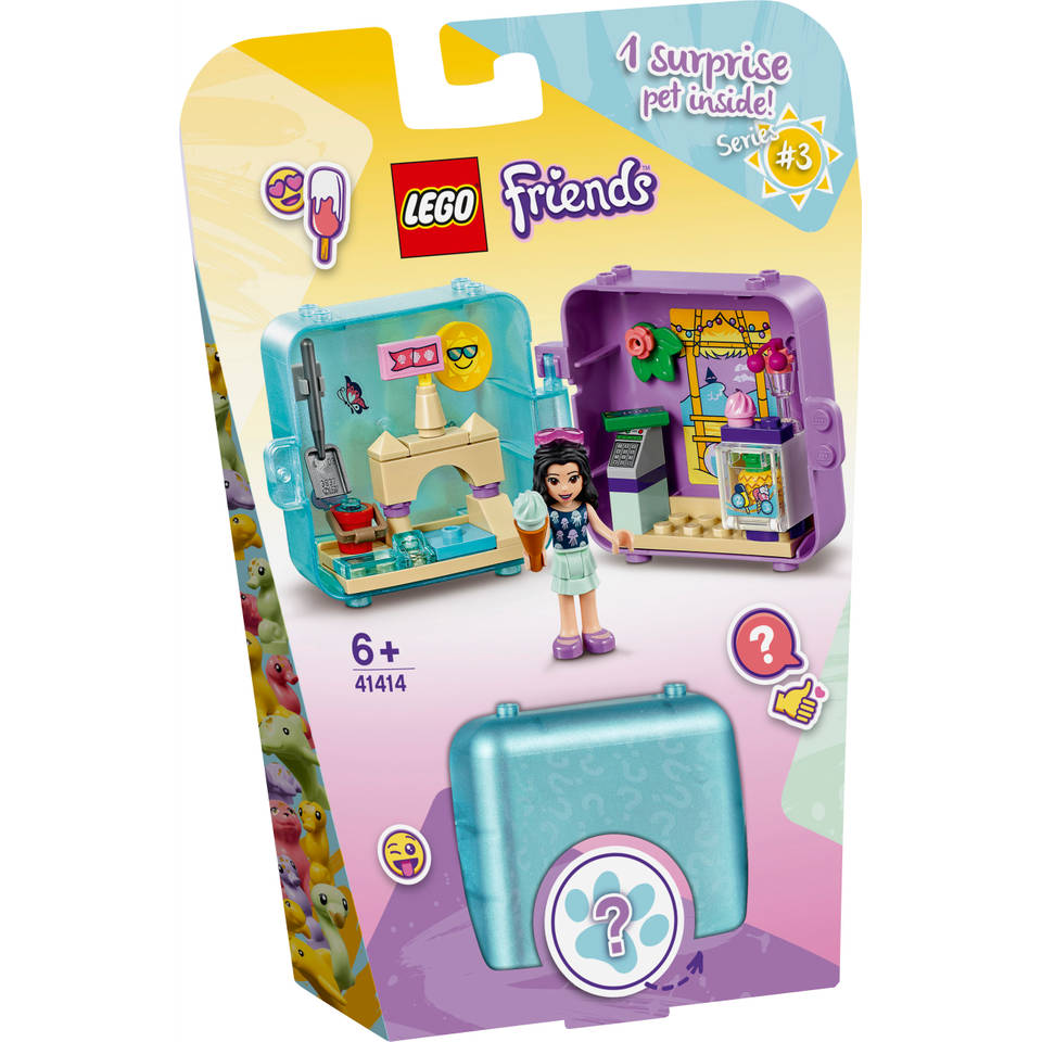 LEGO Friends Emma's zomerspeelkubus 41414