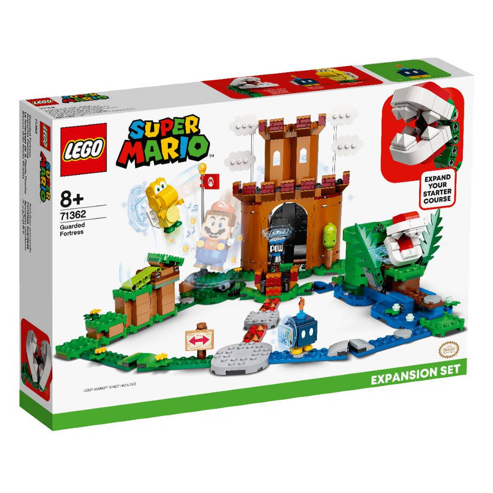 LEGO Super Mario uitbreidingsset Bewaakte vesting 71362