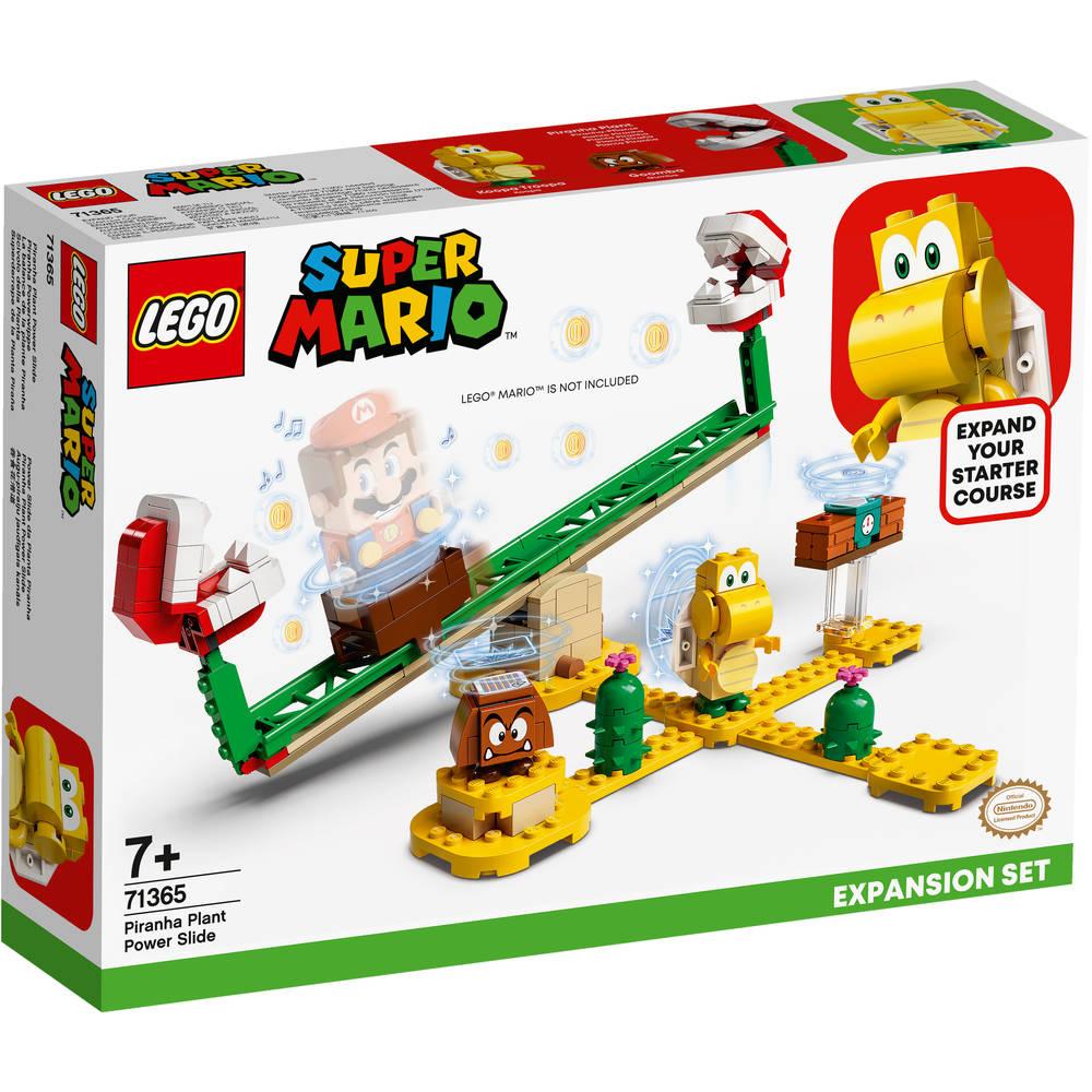 LEGO Super Mario uitbreidingsset Piranha Plant-powerslide 71365