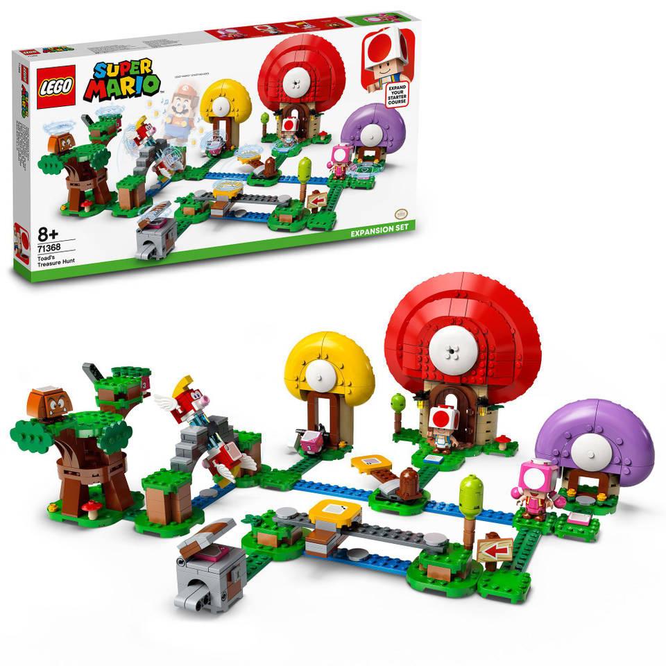 LEGO Super Mario uitbreidingsset Toads schattenjacht 71368