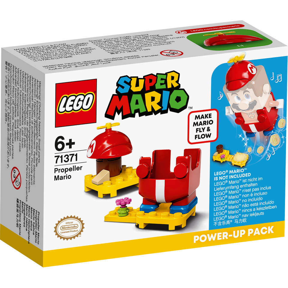 LEGO Super Mario Power-uppakket Propeller-Mario 71371