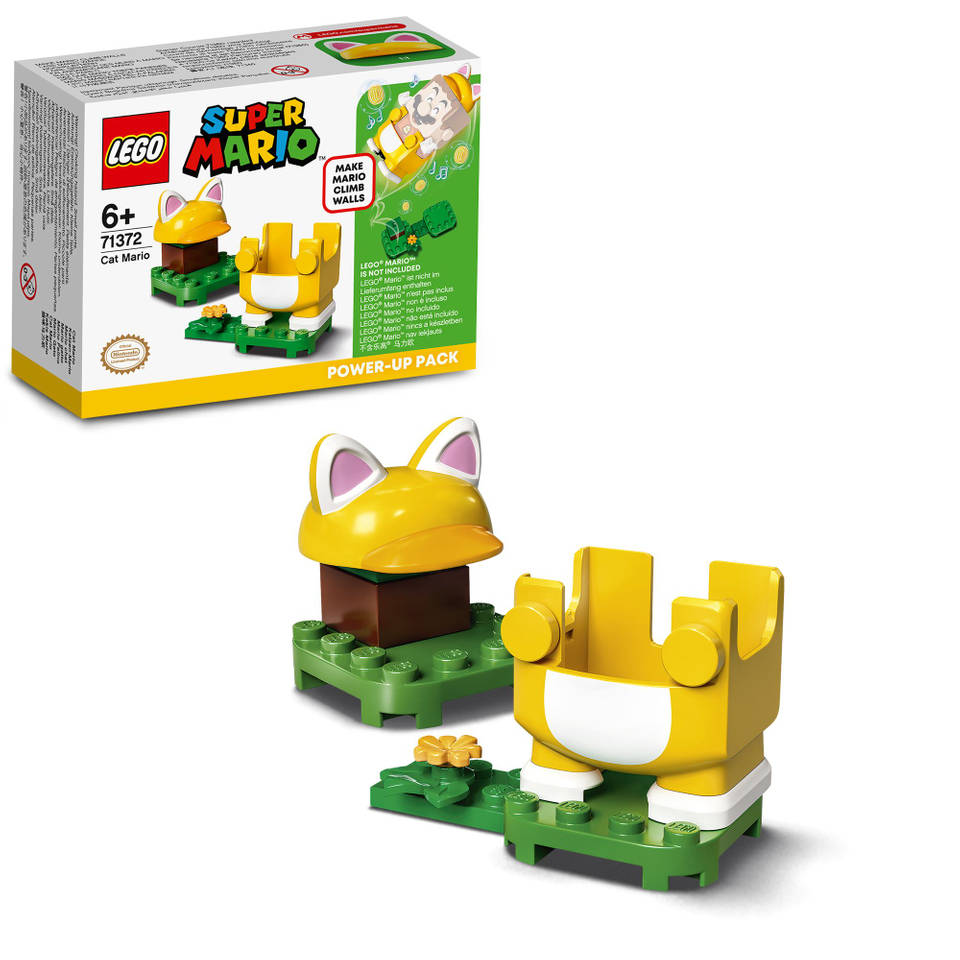 LEGO Super Mario Power-uppakket Kat-Mario 71372