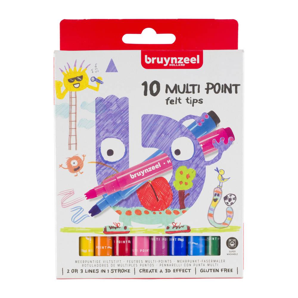Bruynzeel meerpuntige stiften - 10 stuks