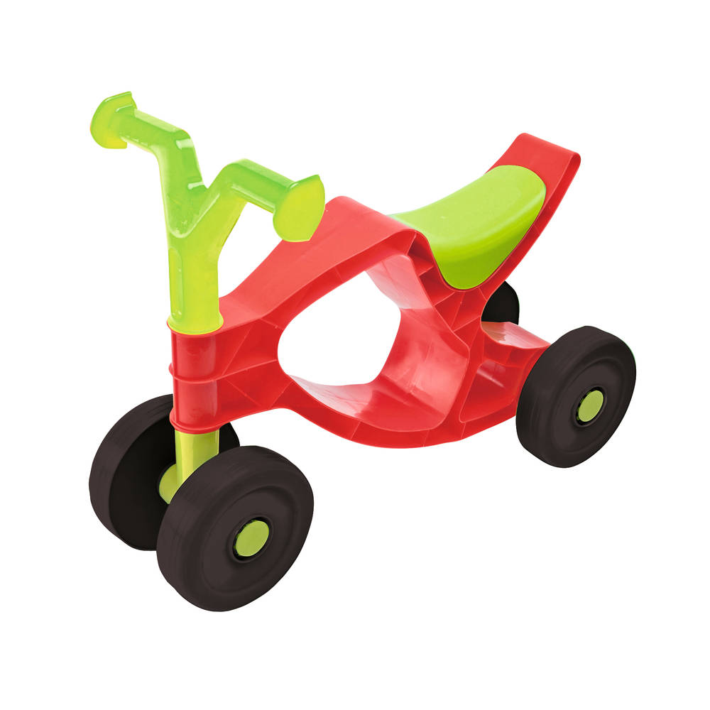 Big Flippi loopfiets - rood/groen