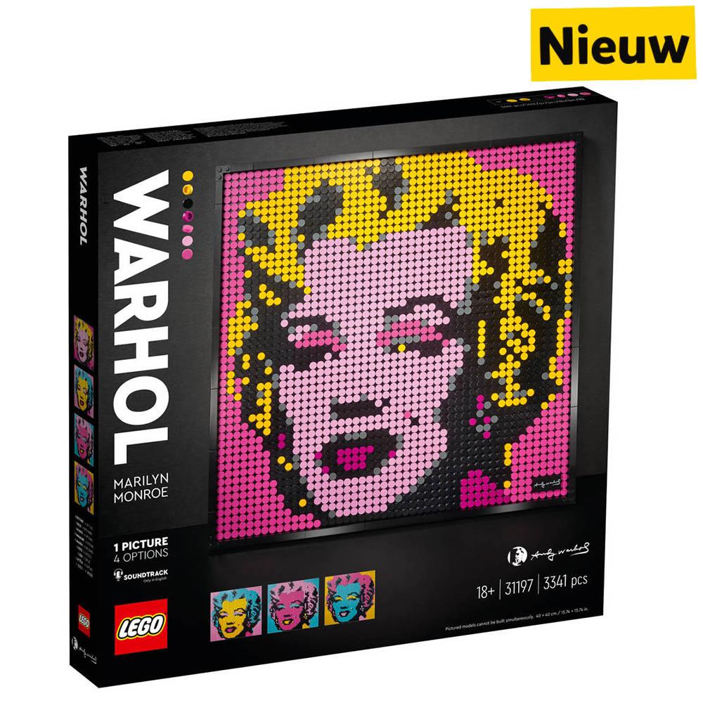LEGO Art Andy Warhols Marilyn Monroe 31197