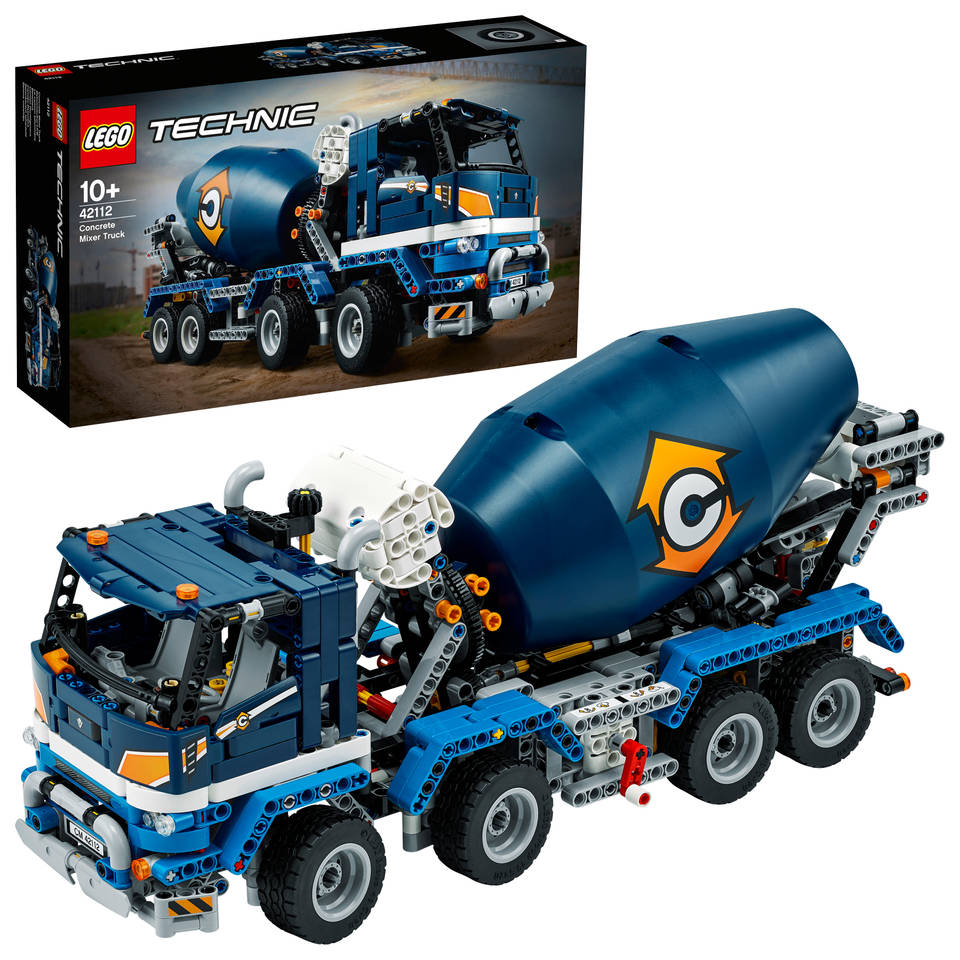 LEGO Technic betonmixer 42112