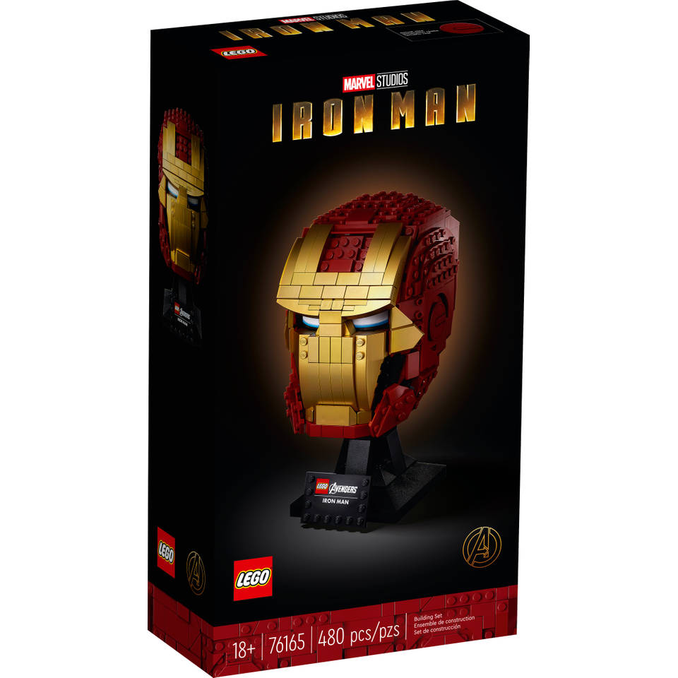 LEGO Marvel Super Heroes Iron Man helm 76165