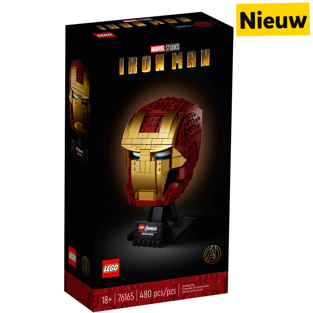 LEGO Marvel Super Heroes Iron Man helm 76165
