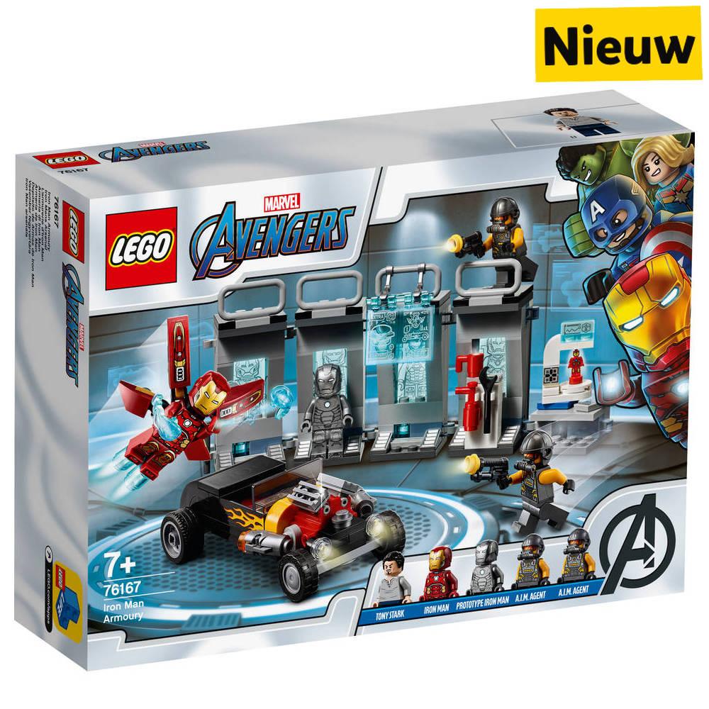 LEGO Marvel Super Heroes Iron Man wapenkamer 76167