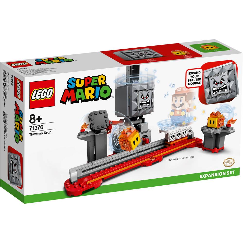 LEGO Super Mario uitbreidingsset de val van Thwomp 71376
