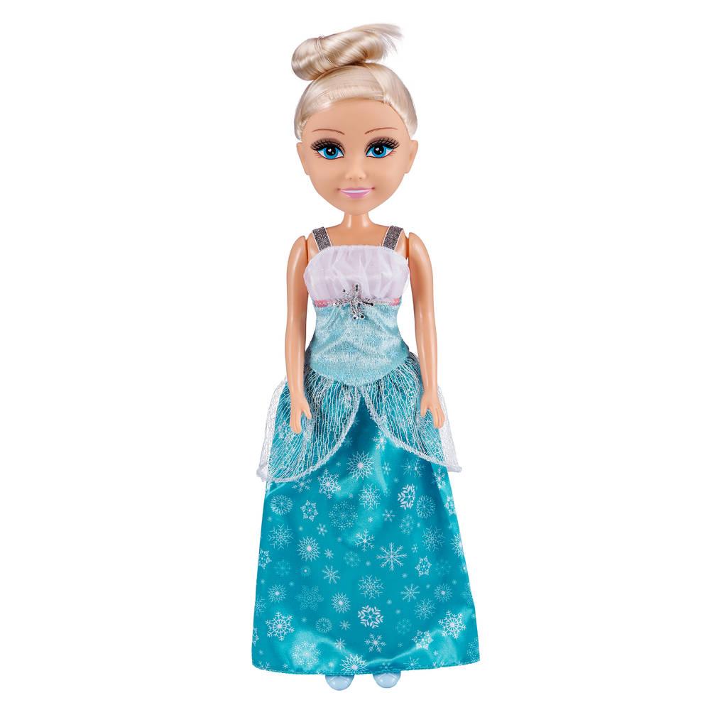 Sparkle Girlz winter prinses pop - 45 cm