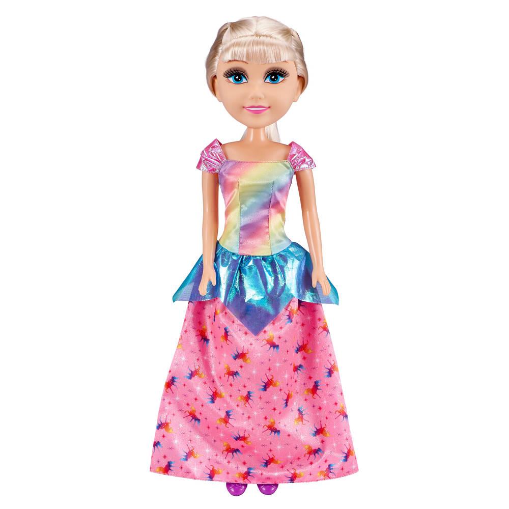 Sparkle Girlz eenhoorn prinses pop - 45 cm