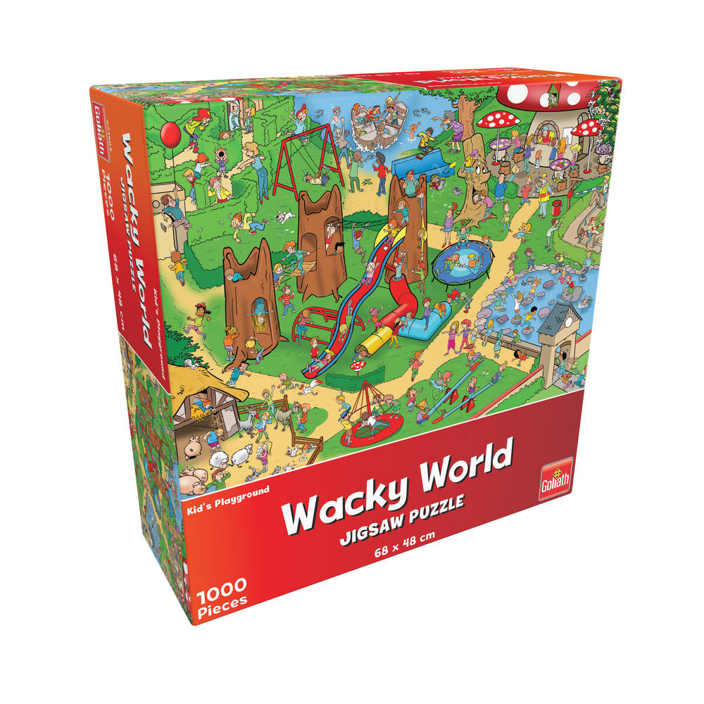 Wacky World puzzel speeltuin