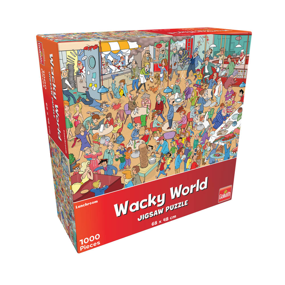 Wacky World puzzel lunchkamer