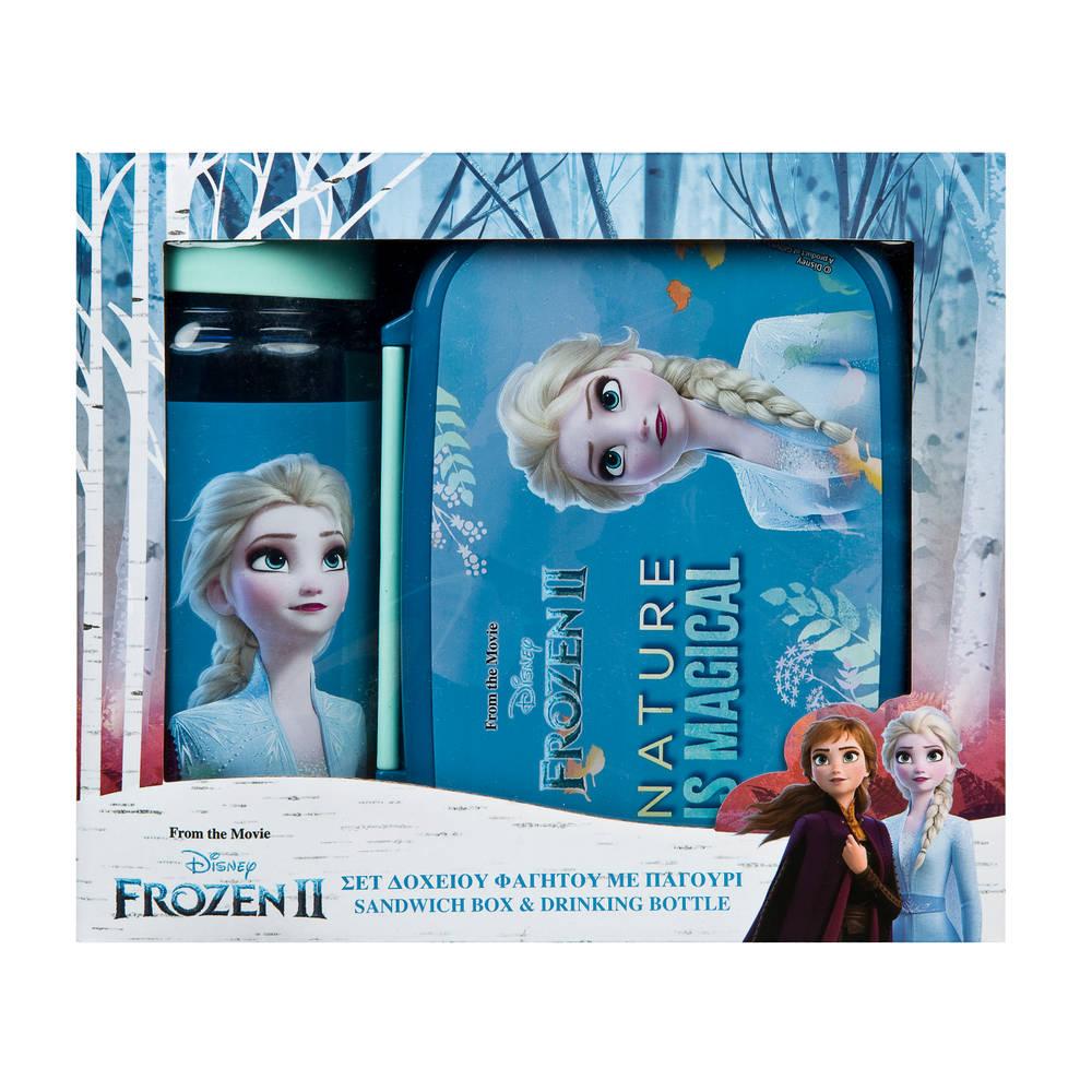 Disney Frozen lunchbox en drinkbeker set - 400 ml