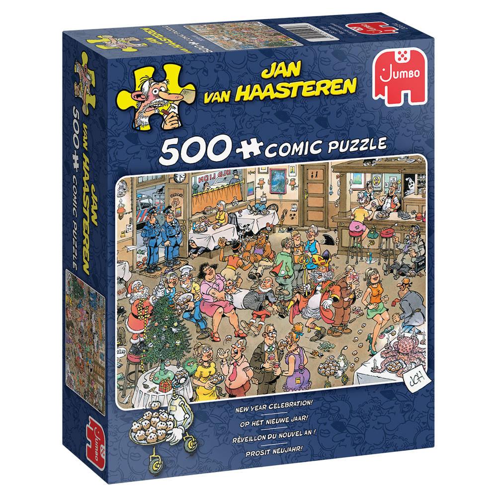Jumbo Jan van Haasteren Op het nieuwe jaar - 500 stukjes