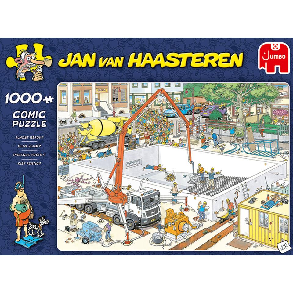 Jumbo Jan van Haasteren Bijna klaar - 1000 stukjes