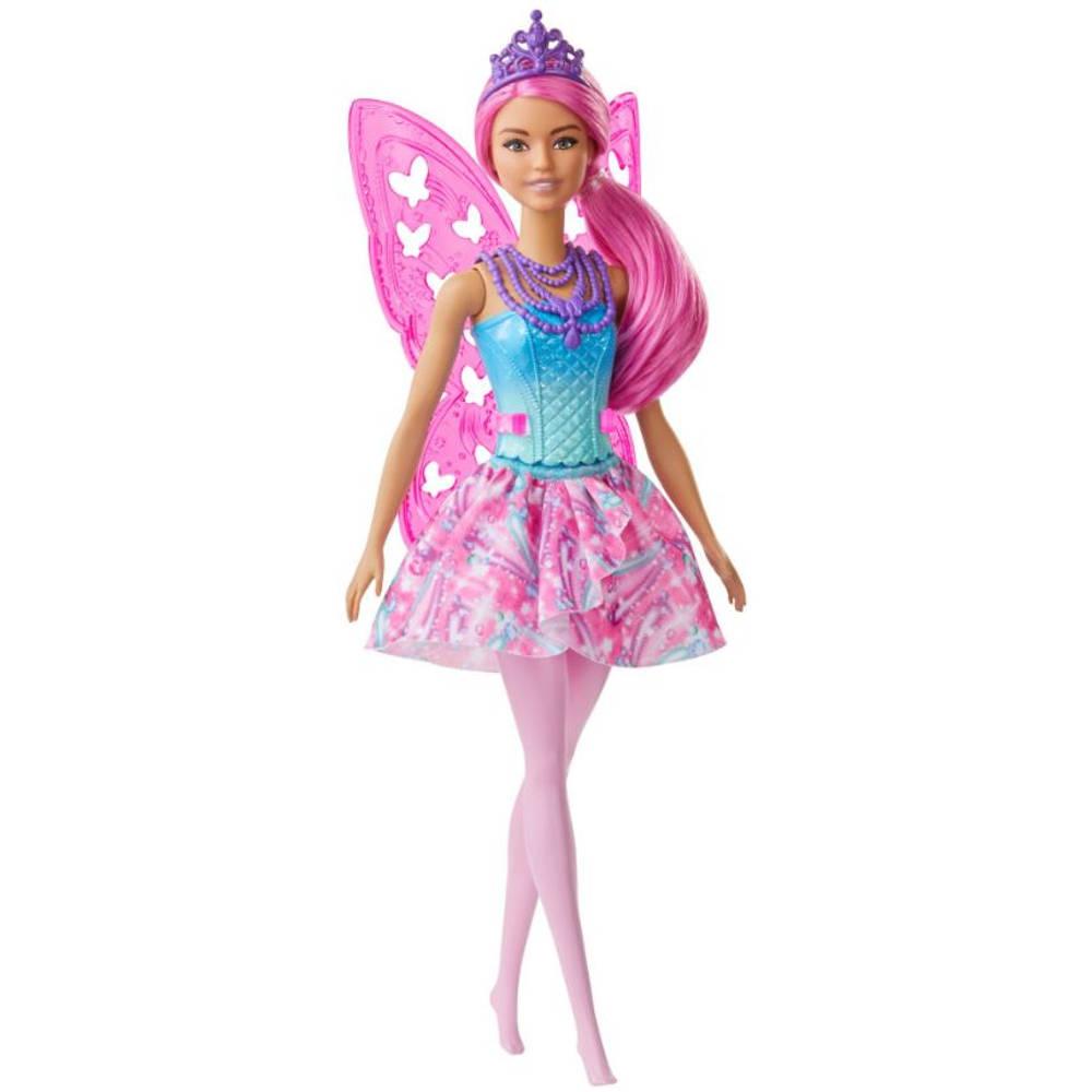 Barbie Dreamtopia fee met roze haar