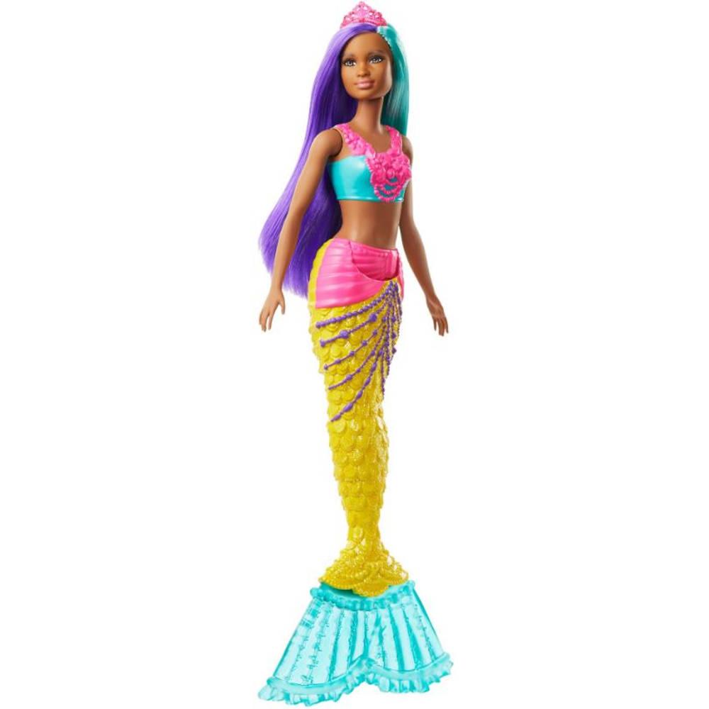 Barbie Dreamtopia zeemeermin met blauwgroen en paars haar