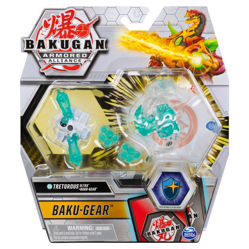 Bakugan Ultra Ball met Bakugear - 1-pack