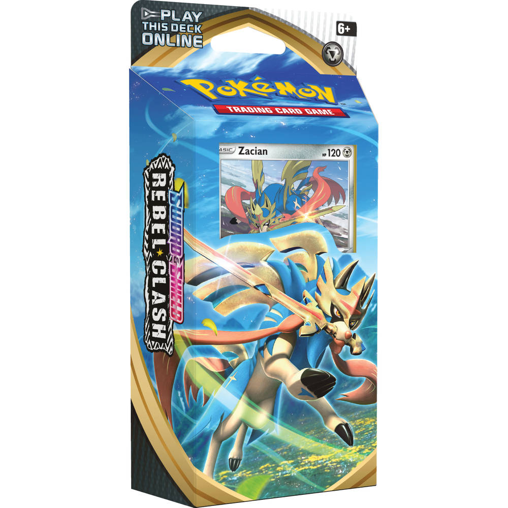 Pokémon TCG Sword & Shield Rebel Clash Zacian themadeck