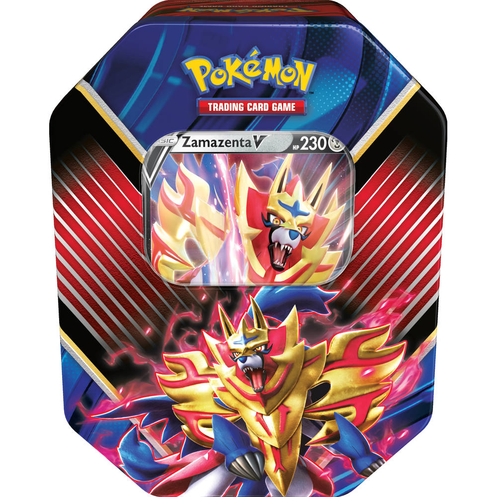 Pokémon TCG Zamazenta V box