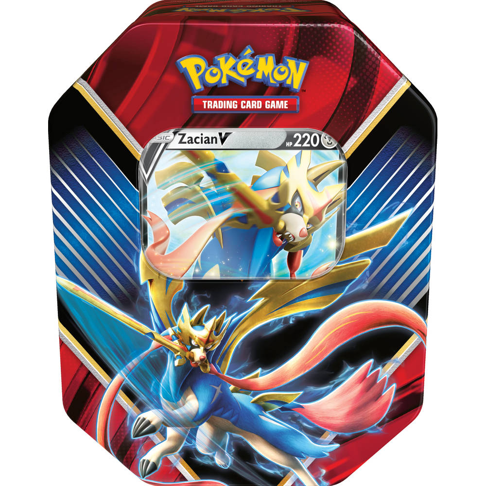 Pokémon TCG Zacian V box