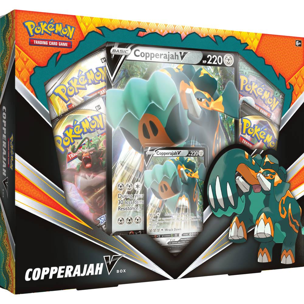 Pokémon TCG Copperajah V box
