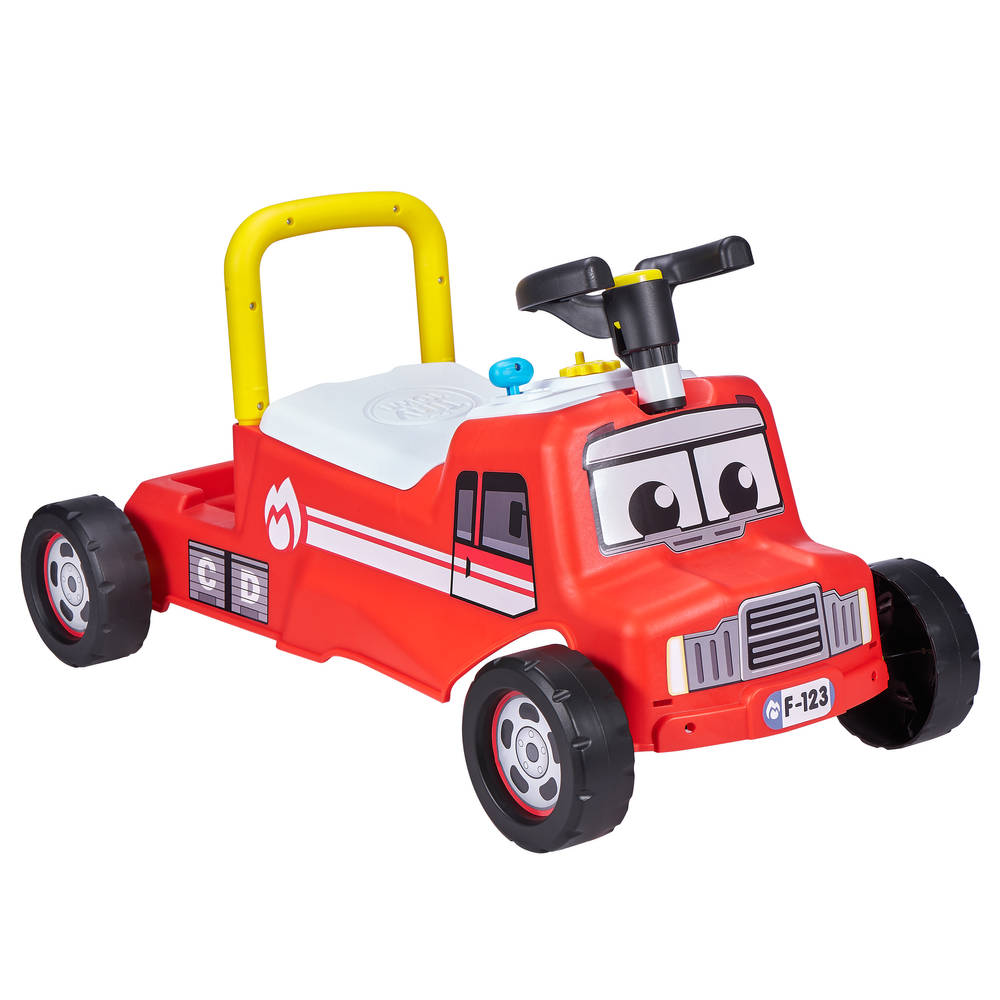 Tiny Town loopauto - rood