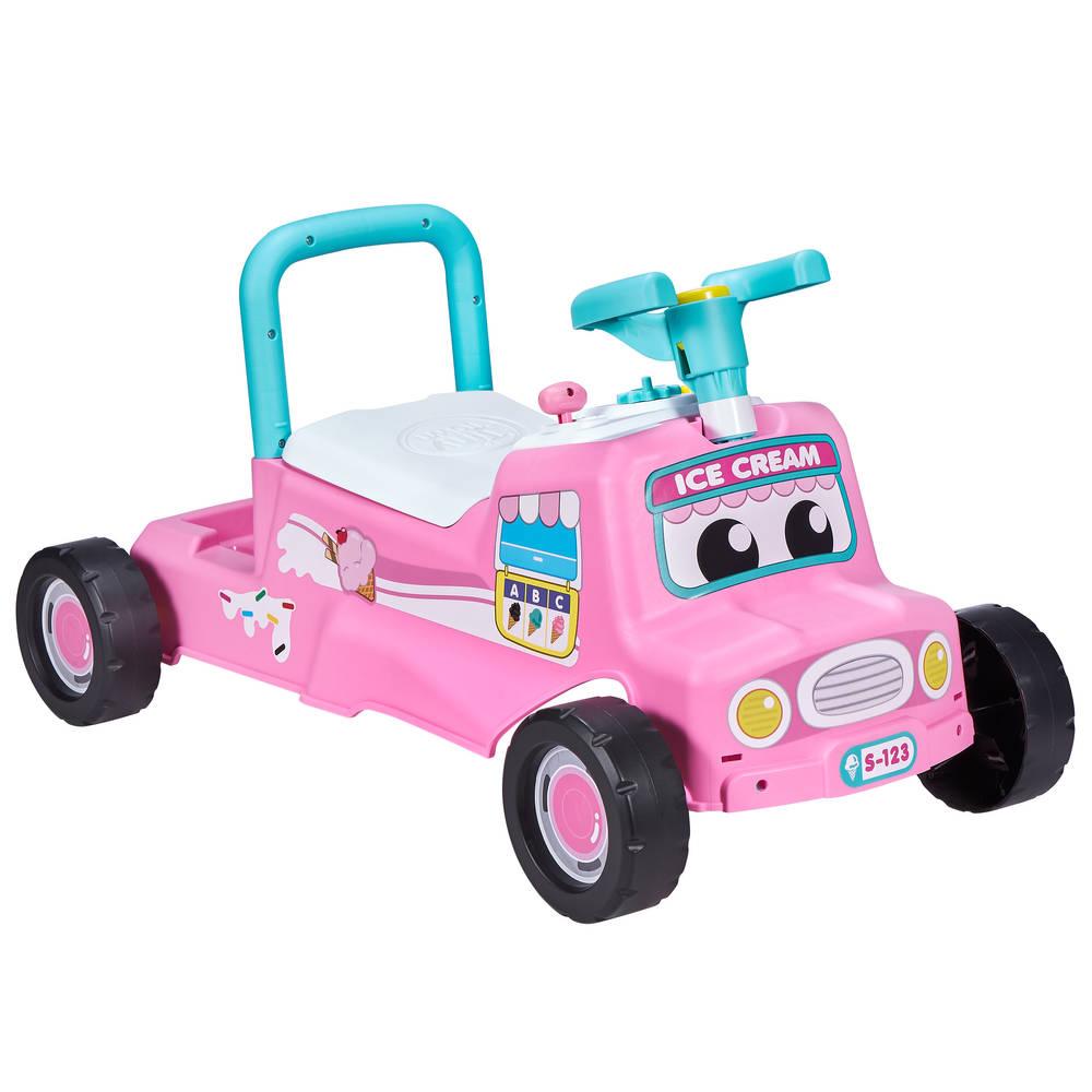 Tiny Town loopauto - roze