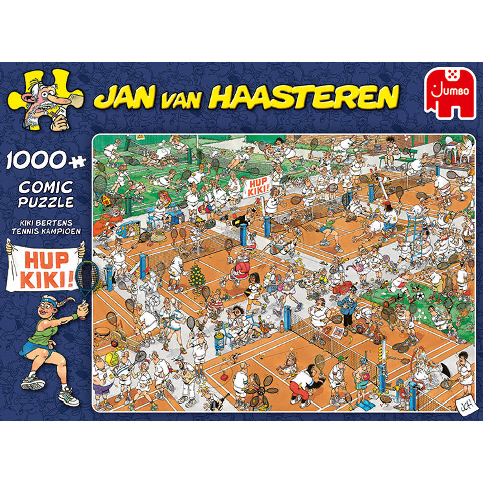 Jumbo Jan van Haasteren puzzel Tennisbaan - 1000 stukjes