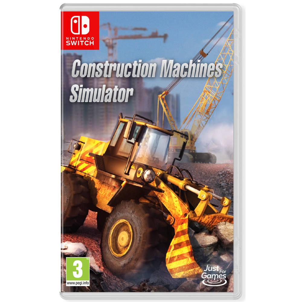 Nintendo Switch Construction Machines Simulator