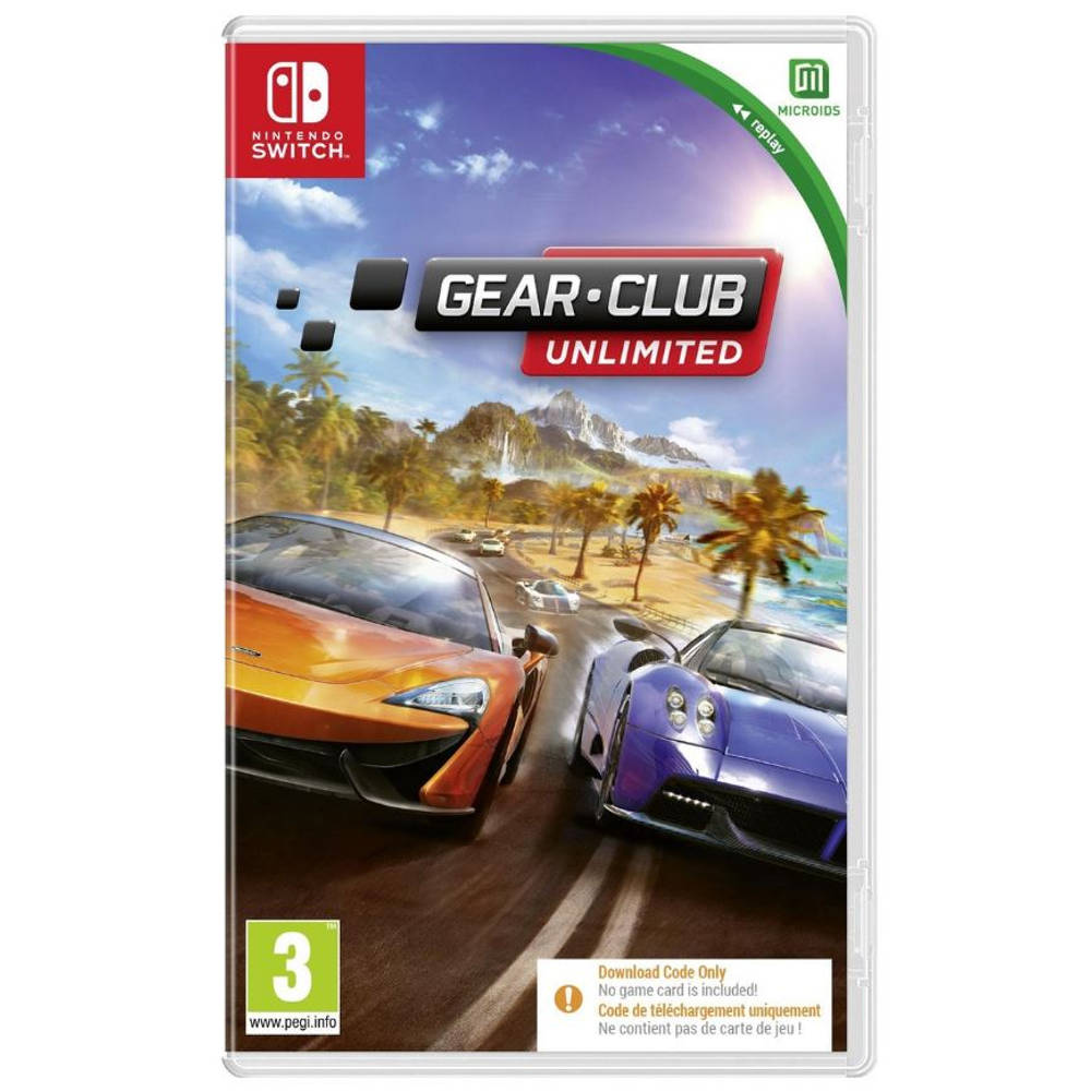 Nintendo Switch Gear.Club Unlimited - code in a box