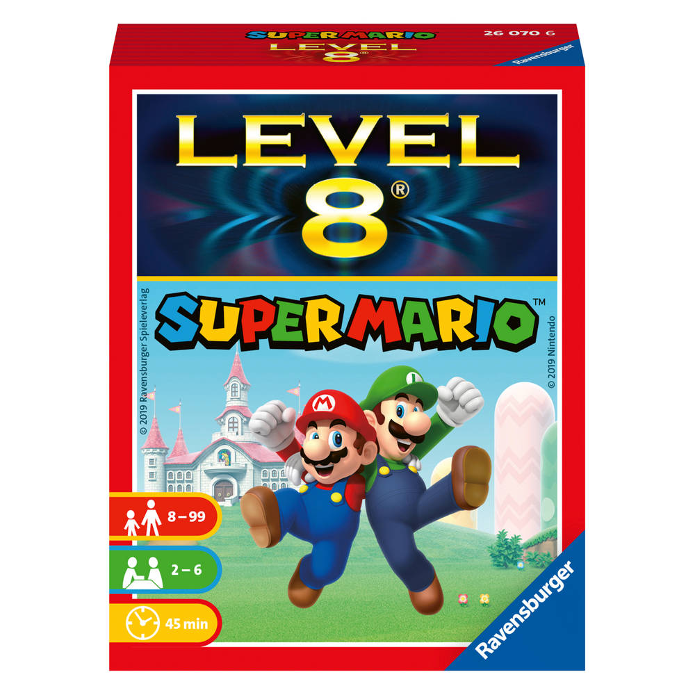 Ravensburger Nintendo Super Mario Level 8 kaartspel