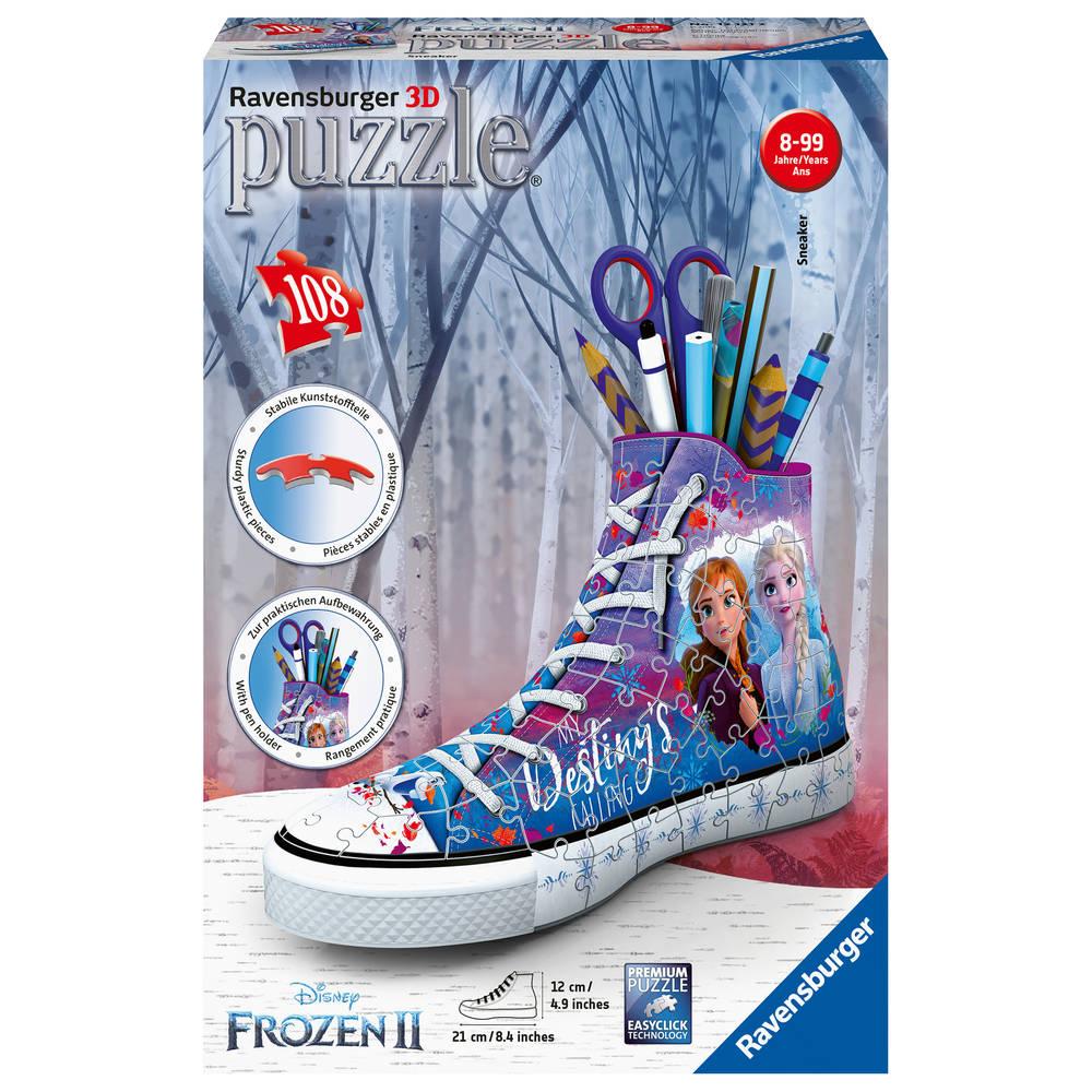 Ravensburger 3D puzzel Disney Frozen 2 sneaker - 108 stukjes