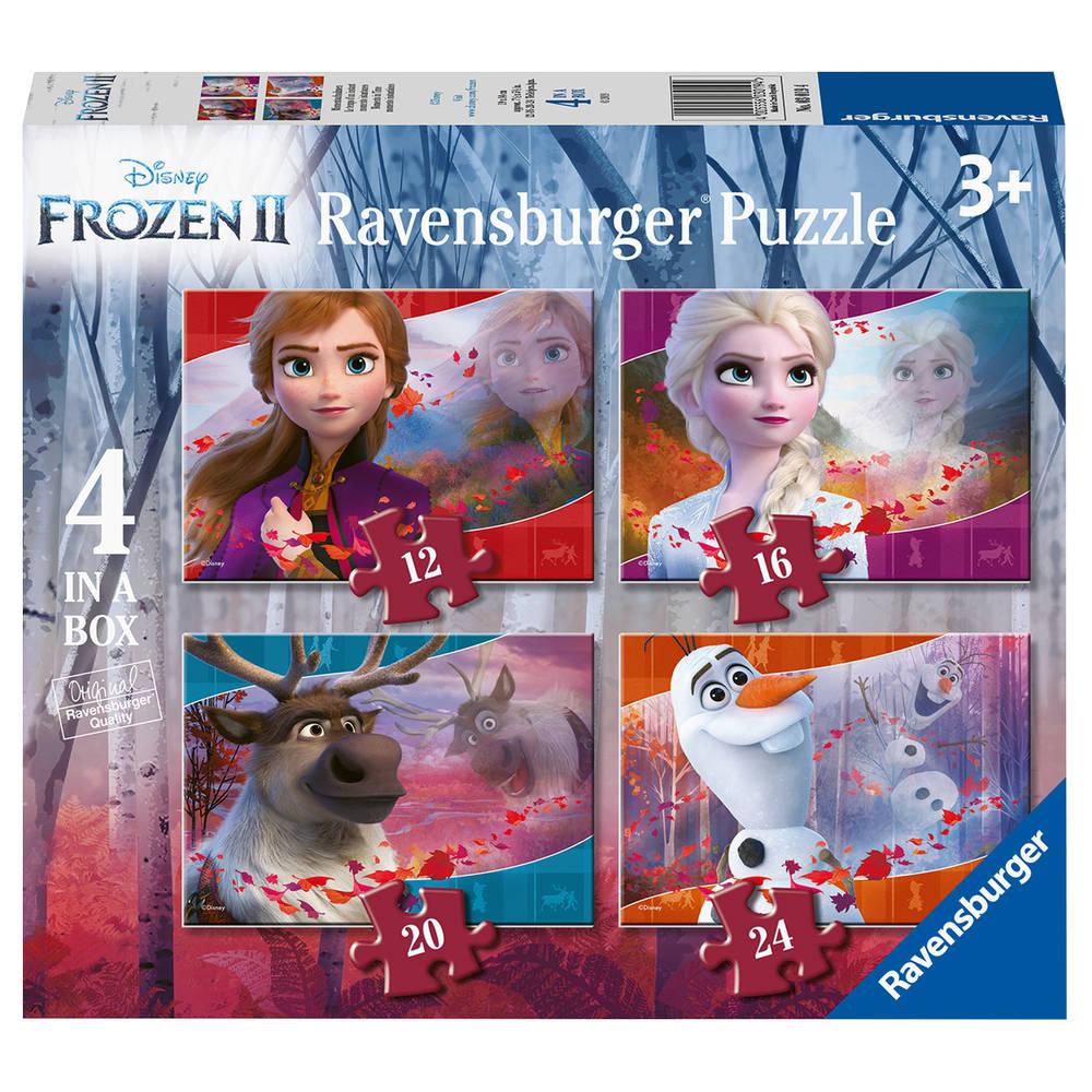 Ravensburger Disney Frozen 2 4-in-1 puzzelset - 12 + 16 + 20 + 24 stukjes