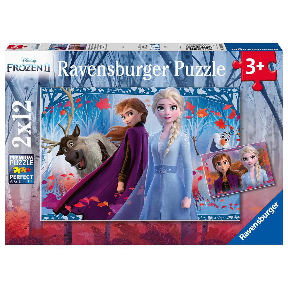 Ravensburger Disney Frozen 2 puzzelset - 2 x 12 stukjes