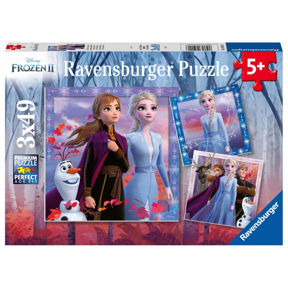 Ravensburger Disney Frozen 2 puzzelset - 3 x 49 stukjes