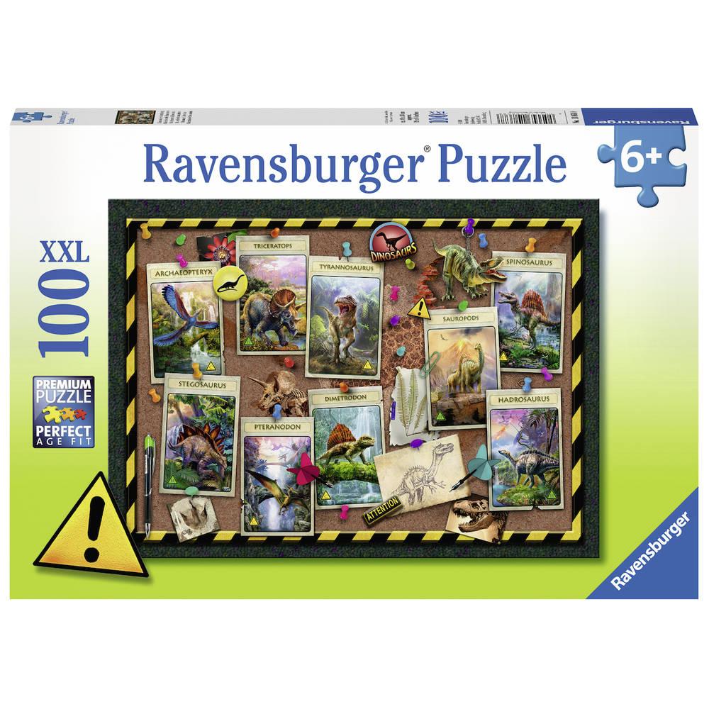 Ravensburger XXL puzzel dino verzameling - 100 stukjes