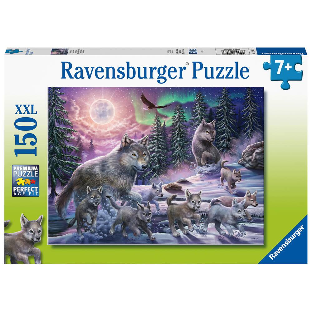 Ravensburger XXL puzzel noordelijke wolven - 150 stukjes