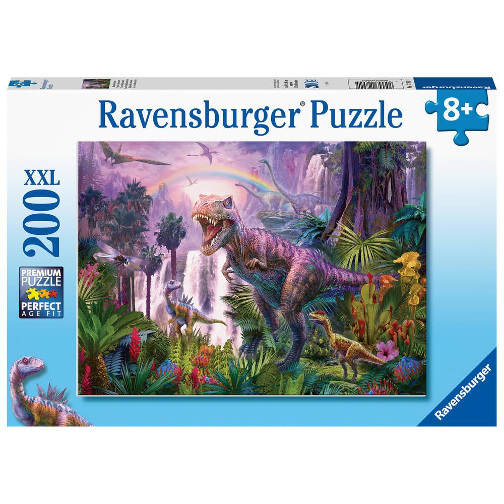 Ravensburger XXL puzzel land van de dinosauriërs - 200 stukjes