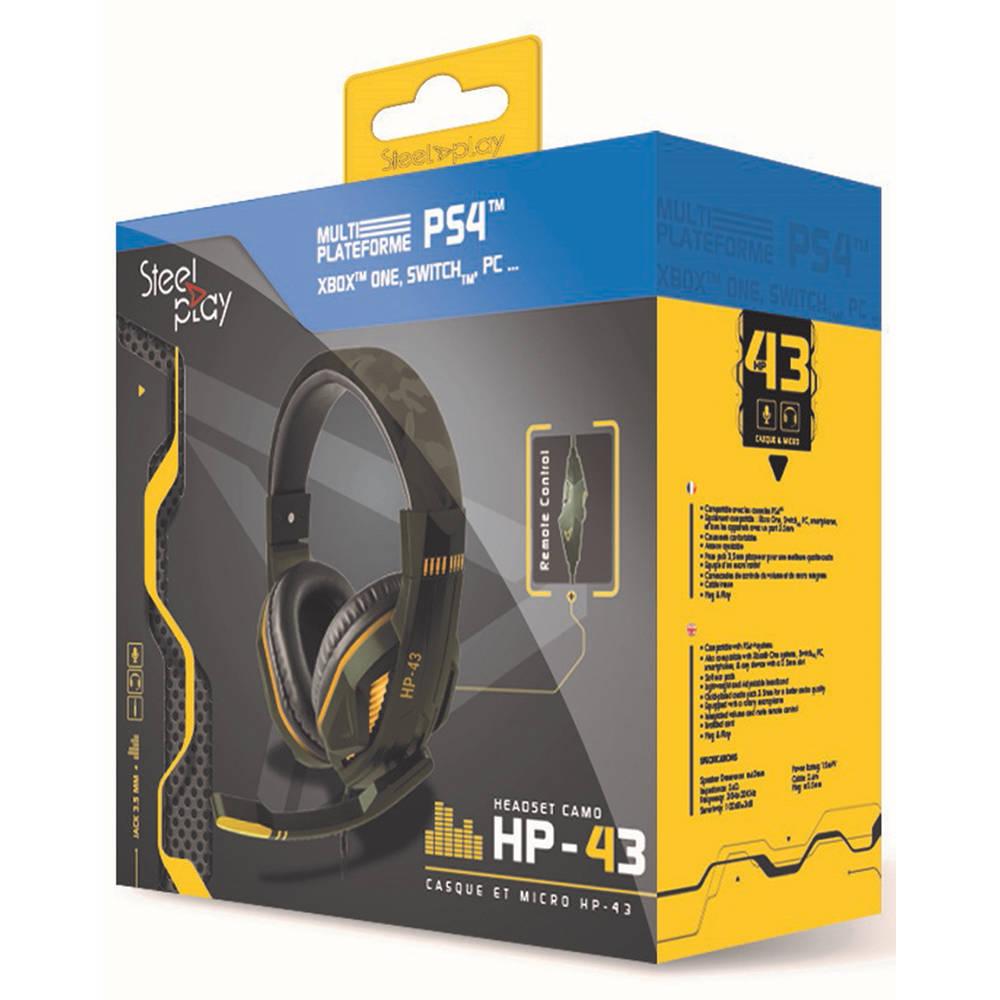Steelplay HP-43 gaming headset