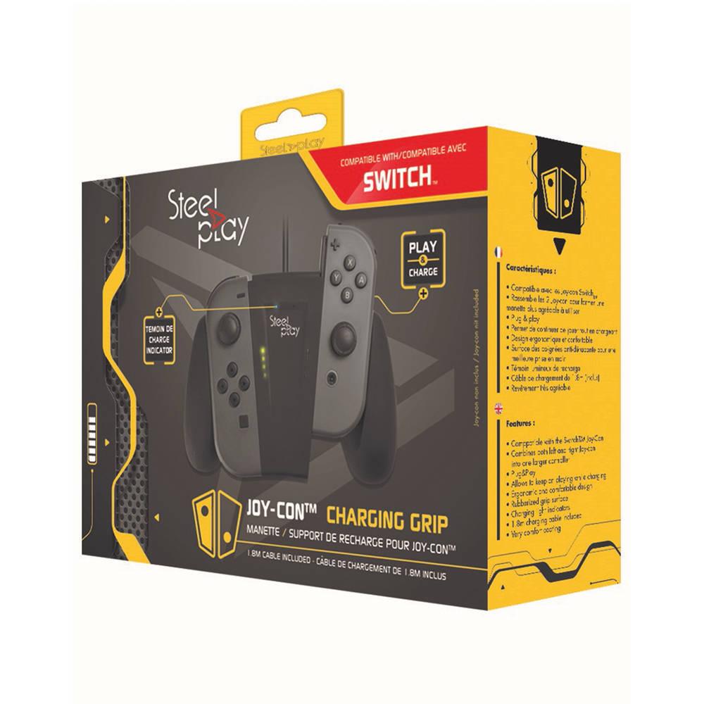 Steelplay Joy-Con charge grip voor Nintendo Switch