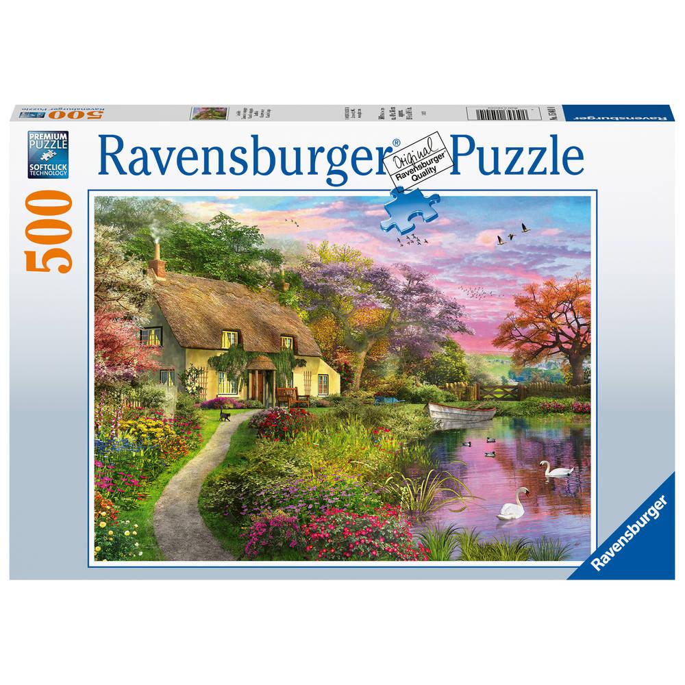 Ravensburger puzzel landhuis - 500 stukjes